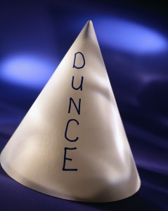 Dieting Dunce Cap